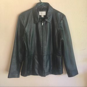 Genuine leather jacket, no fault